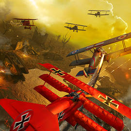The Red Baron-V2 by Kurt Miller