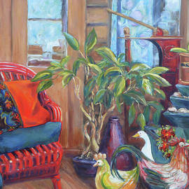 Terri Maddock - The Red Chair