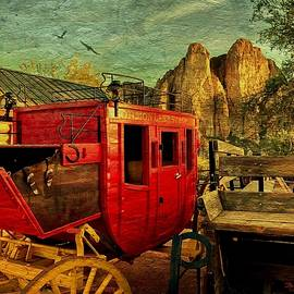 Barbara Zahno - The Red Stagecoach