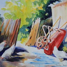 The Red Wheelbarrow by Marsha Reeves