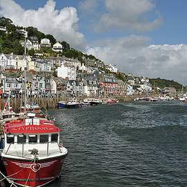 The River Looe by Andrew Wilson
