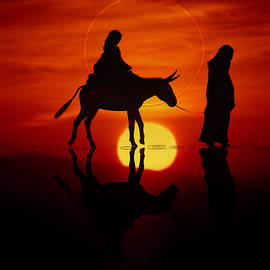 The road to Bethlehem by Valerie Anne Kelly