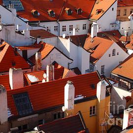 Karin Stein - the roofs of Prague