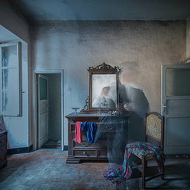 The Room Of The Castle Of The Phantom Of The Mirror by Enrico Pelos