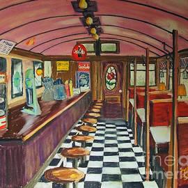 The Rose Diner by Francois Lamothe