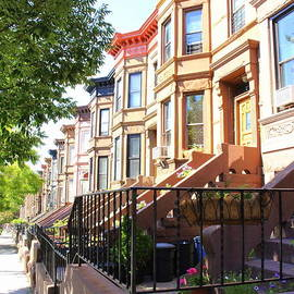 Dora Sofia Caputo Photographic Design and Fine Art - The Historic Row Houses of Brooklyn
