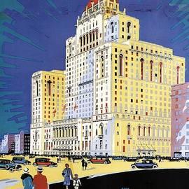 Studio Grafiikka - The Royal York Hotel, Toronto, Canada - Canadian Pacific - Retro travel Poster - Vintage Poster
