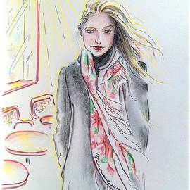 Barbara Chase - The Scarf