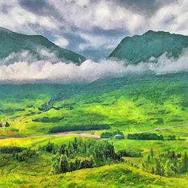 The Scottish Highlands by Digital Photographic Arts