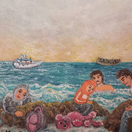The sea rescue by Petra Theodoridou