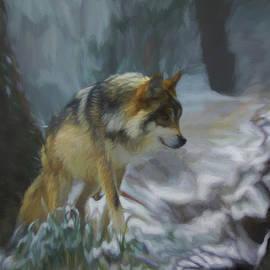 Ernie Echols - The Searching Wolf