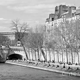 Alex Cassels - The Seine in Springtime