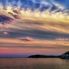 Lilia D - The sky after sunset North Shore MA