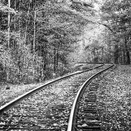 Debra and Dave Vanderlaan - The Slow Lane Black and White