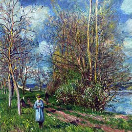 Olivier Blaise - The small meadows in spring