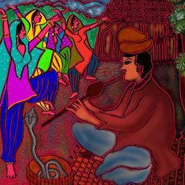The Snake charmer by Latha Gokuldas Panicker
