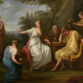 The Sorrow of Telemachus - Angelica Kauffman