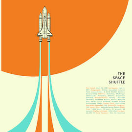 THE SPACE SHUTTLE - Jazzberry Blue