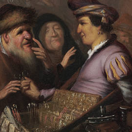 The Spectacle-Pedlar  - Rembrandt