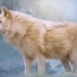 The Spirit Within - Arctic Wolf Art by Jordan Blackstone