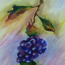 Angele Attard - The Still Life Of Grapes