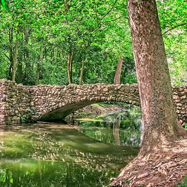 William Sturgell - The Stone Bridge in Snyder Park