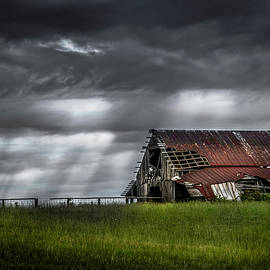 The Storm and the Barn by Desmond Lake