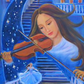 The story told by a violin by Irina Bakhareva