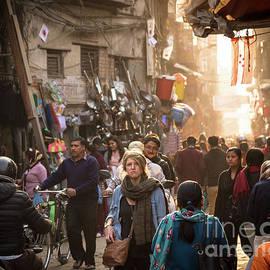 Didier Marti - The streets of Kathmandu