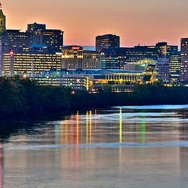 Frozen in Time Fine Art Photography - The Sun Sets on Hartford