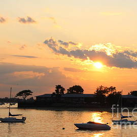 The Golden Hour Over The Bay by Dora Sofia Caputo Photographic Design and Fine Art