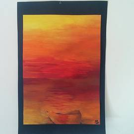 Angele Attard - The Sunset Which Caravaggio Used To See