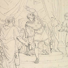 The Sword of Damocles - Christoffer Wilhelm Eckersberg
