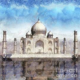 The Taj Mahal by Sarah Kirk - Sarah Kirk