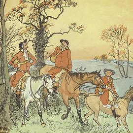 The Three Jovial Huntsmen - Randolph Caldecott