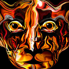 Abstract Angel Artist Stephen K - The Tigress.