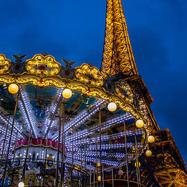 The Tower and the Carousel by Marco Duran