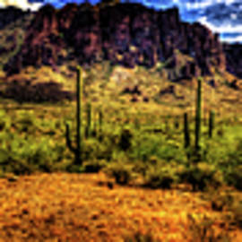 Roger Passman - The Trail Turns Toward Superstition Mountain