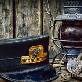 The Train Conductor by Paul Ward