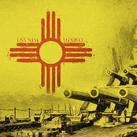 The Uss New Mexico by JC Findley