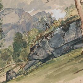 The Valley of Lutscheuen - John Frederick Lewis