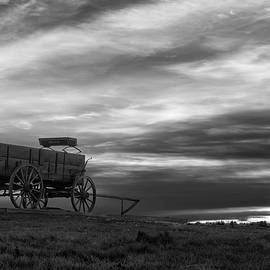 Michael Blanchette - The Wagon - B/W