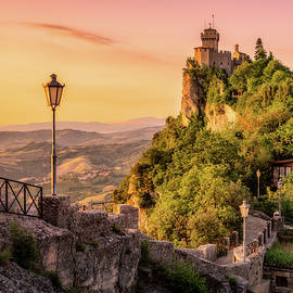 The Walls And The Tower - San Marino by Nico Trinkhaus