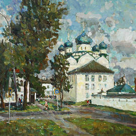 Juliya Zhukova - The walls of the Monastery of the Epiphany in Uglich