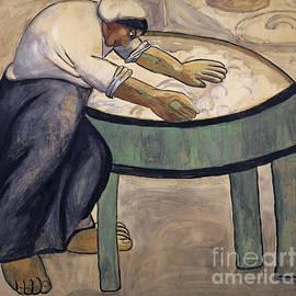 The Washerwoman, 1911  - Kazimir Malevich