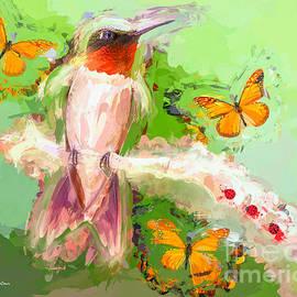 Tina LeCour - The Whimsical Hummingbird