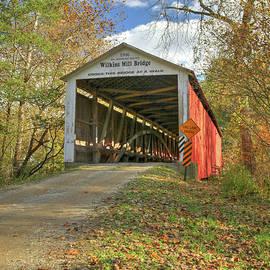 The Wilkins Mill Covered Bridge by Harold Rau