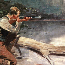 The Winchester by Frederic Remington