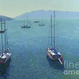 The Yachts by Simon Kozhin