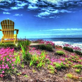 Chairs By The Sea  by Thom Zehrfeld